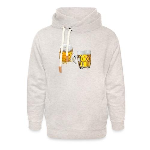 Boccali di birra - Felpa con colletto alto unisex