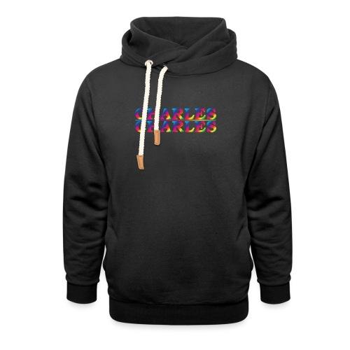 CHARLES rainbow - Shawl Collar Hoodie