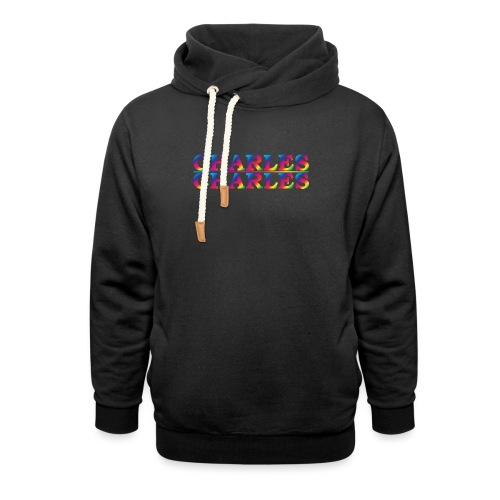 CHARLES rainbow - Unisex Shawl Collar Hoodie