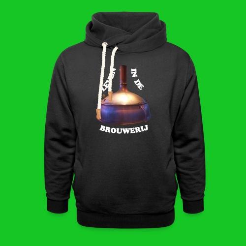 Leven in de brouwerij - Sjaalkraag hoodie