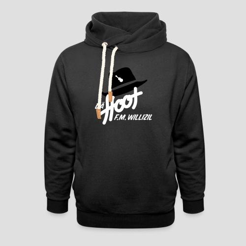 daeHoot_Shirt_Logo1_2c - Unisex Schalkragen Hoodie