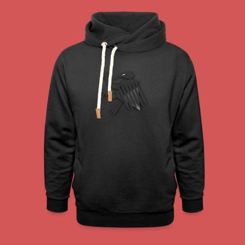 Nörthstat Group ™ Black Alaeagle - Unisex Shawl Collar Hoodie