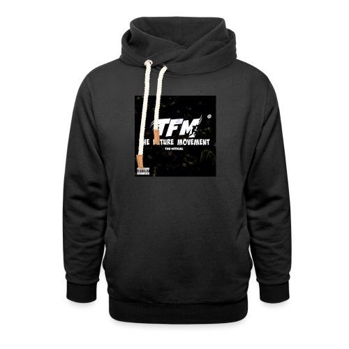 The Future Movement (black) - Unisex sjaalkraag hoodie