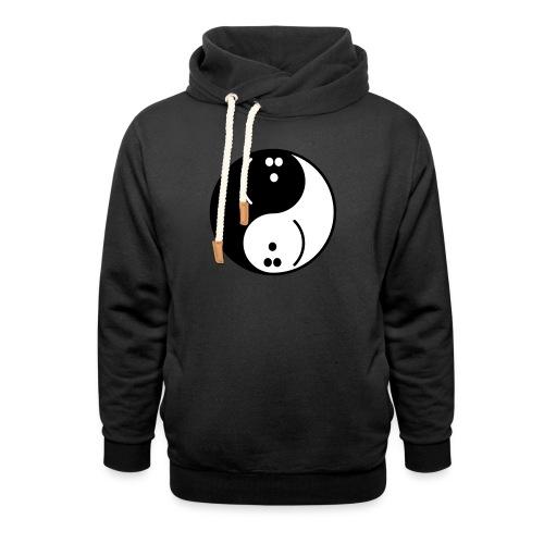 Bowling Yin-Yang - Unisex Shawl Collar Hoodie