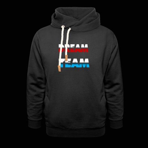 DreamTeam - Unisex hoodie med sjalskrave