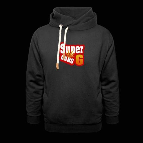SuperG-Gang - Unisex hoodie med sjalskrave