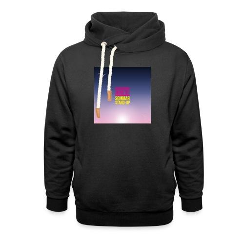 T-shirt dam Skärgårdsskrattet - Luvtröja med sjalkrage unisex