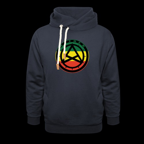 Nether Crew Black\Green\Yellow\Red Hoodie - Felpa con colletto alto unisex