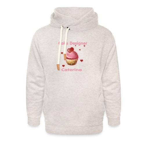 cupcakke - Felpa con colletto alto unisex