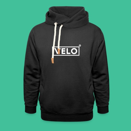 Velo Icon - Red Clr - Shawl Collar Hoodie