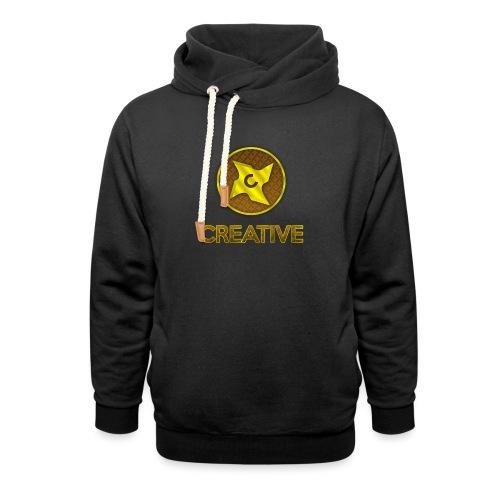 Creative logo shirt - Hoodie med sjalskrave