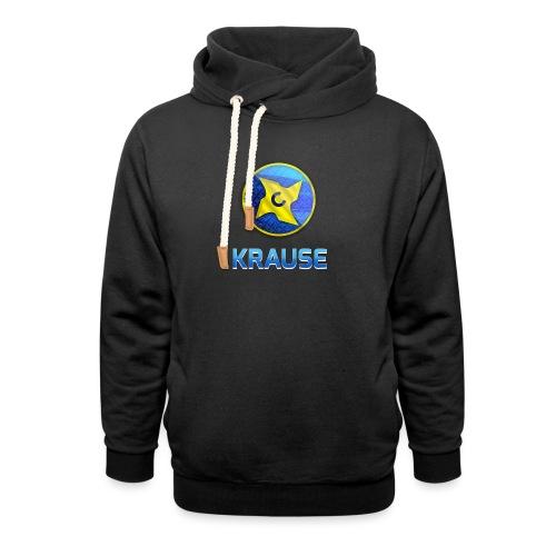 Krause shirt - Hoodie med sjalskrave
