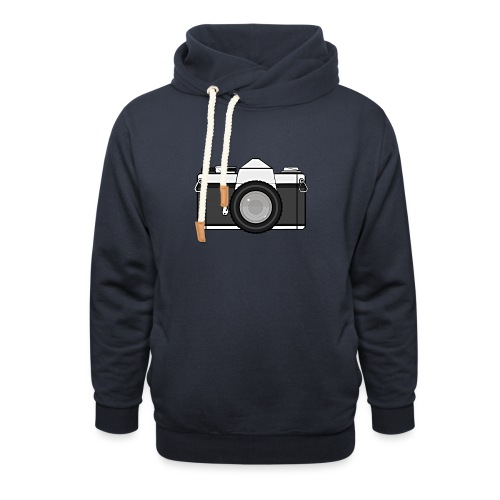 Shot Your Photo - Felpa con colletto alto