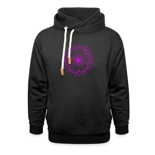 Pink Lotus Mandala - Unisex Shawl Collar Hoodie