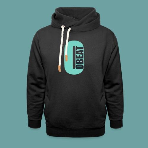 OBeat Logo O - Unisex sjaalkraag hoodie