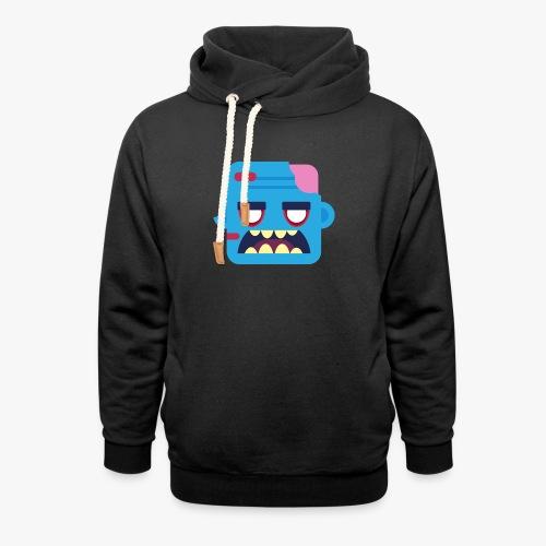 Mini Monsters - Zombob - Unisex hoodie med sjalskrave