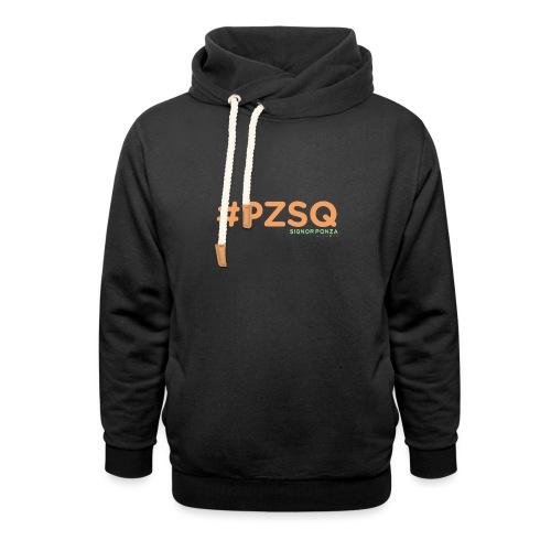 PZSQ 2 - Felpa con colletto alto