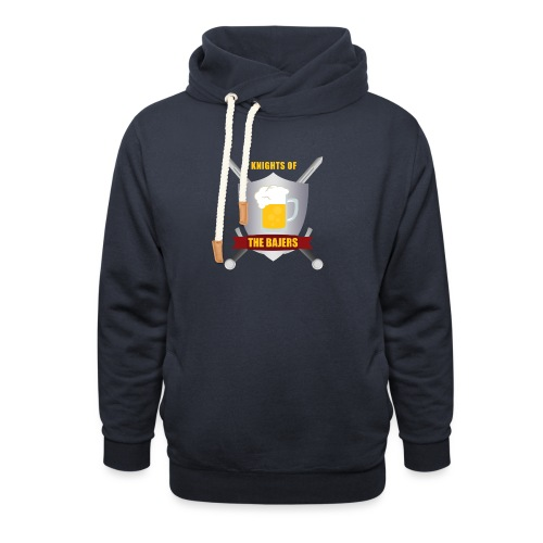 Knights of The Bajers - Unisex hoodie med sjalskrave