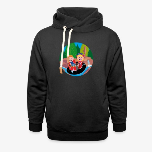 Themepark: Rapids - Unisex sjaalkraag hoodie