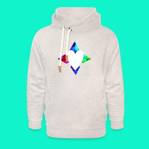 4lof - Unisex sjaalkraag hoodie