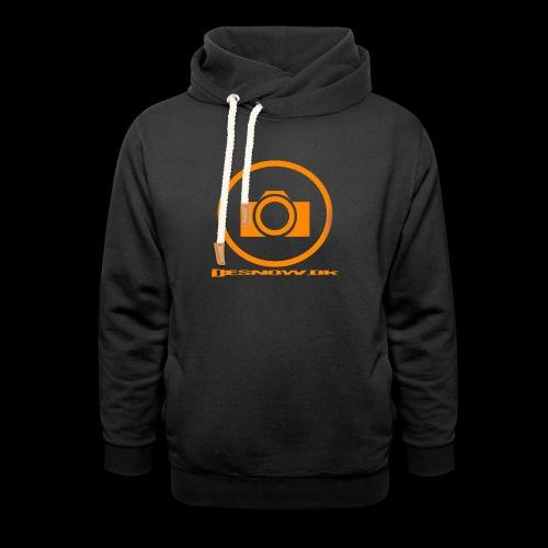 Orange 2 png - Unisex hoodie med sjalskrave