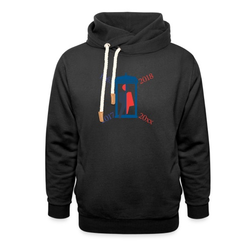 Mr or Ms Who - Unisex Shawl Collar Hoodie