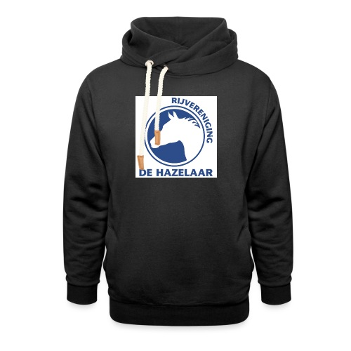 LgHazelaarPantoneReflexBl - Unisex sjaalkraag hoodie