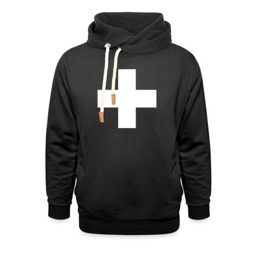 Kreuz - Schalkragen Hoodie