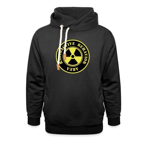 Radioactive Behavior - Sudadera con capucha y cuello alto