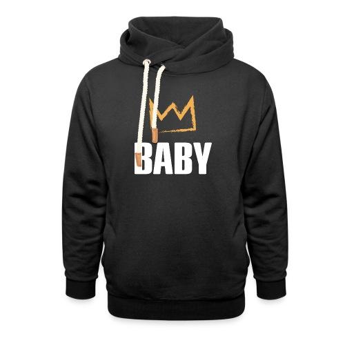 Baby mit Krone - Schalkragen Hoodie