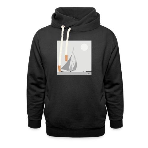 sailing ship - Unisex Shawl Collar Hoodie