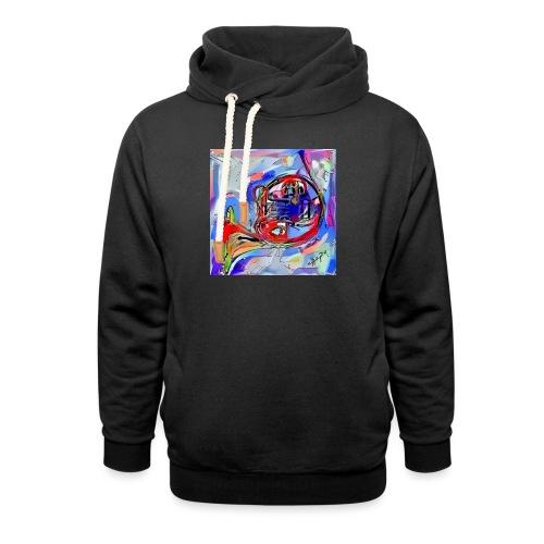cornoarte1 - Unisex sjaalkraag hoodie