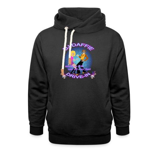 Logo2 png - Unisex sjaalkraag hoodie