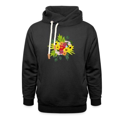 Flower_arragenment - Shawl Collar Hoodie