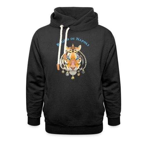 regno di napoli tigre - Felpa con colletto alto unisex