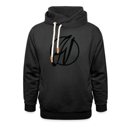 JV Guitars - logo noir - Sweat à capuche cache-cou