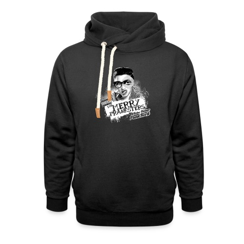 The Merry Pranksters - Woman Black T-Shirt - Shawl Collar Hoodie