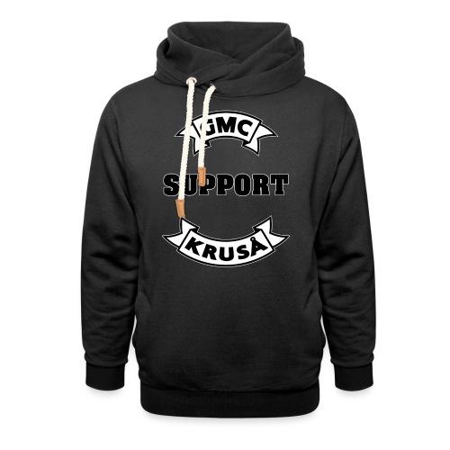 GMC SUPPORT - Unisex hoodie med sjalskrave