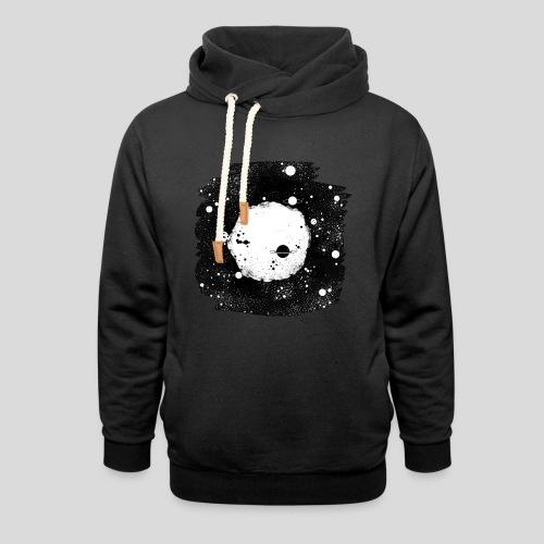Mond Universum - Schalkragen Hoodie