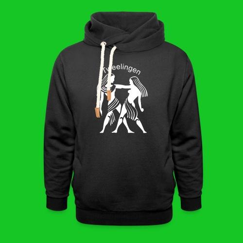 Tweelingen - Sjaalkraag hoodie
