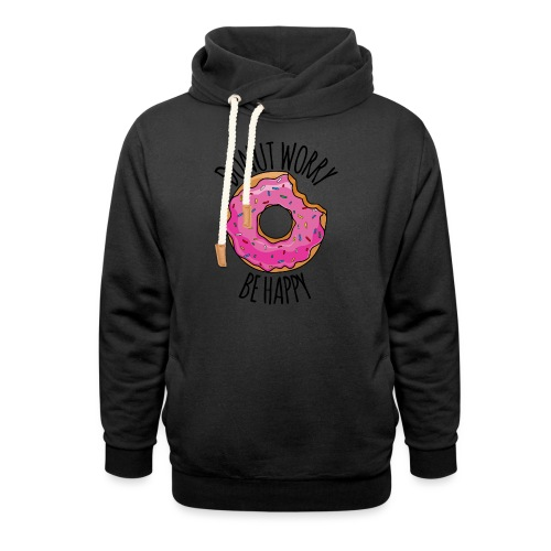 Donut worry - Schalkragen Hoodie