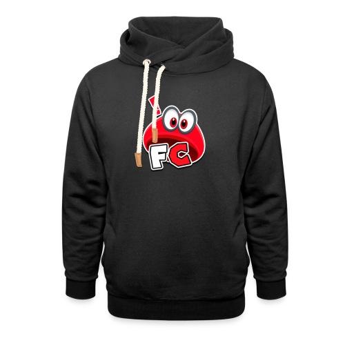 Flying Cappys Logo! - Schalkragen Hoodie