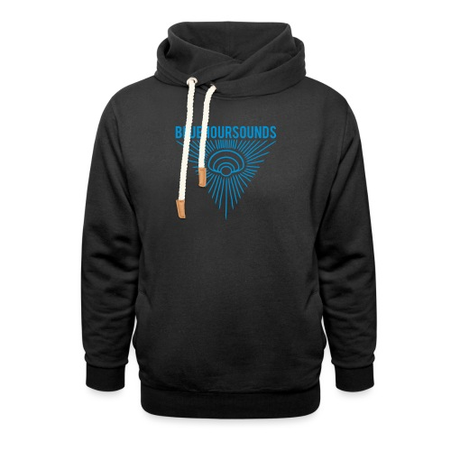 New Blue Hour Sounds logo triangle - Unisex Shawl Collar Hoodie