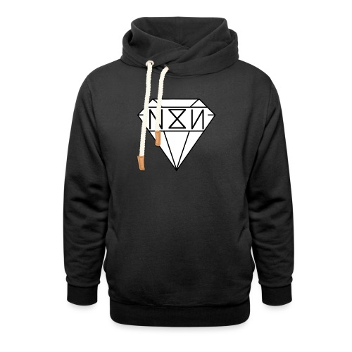 N8N - Sjaalkraag hoodie