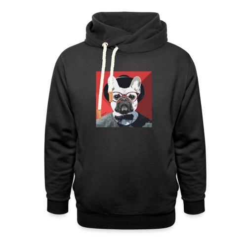 French Bulldog Artwork 2 - Unisex Schalkragen Hoodie
