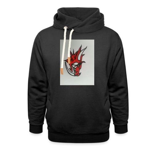 drago - Felpa con colletto alto