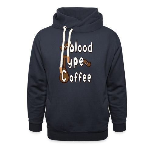 Blood Coffee - Unisex huivikaulus huppari