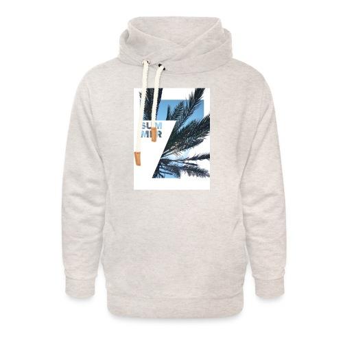 Summertime - Unisex sjaalkraag hoodie