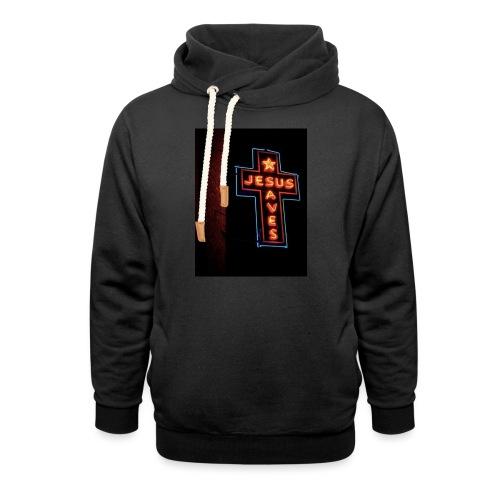 Jesus Saves - Shawl Collar Hoodie