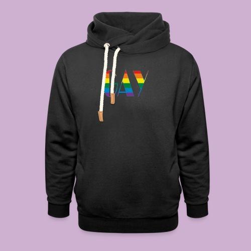 GAY - Schalkragen Hoodie